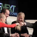 Elizabeth Hannah and her brother Michael on RFNext